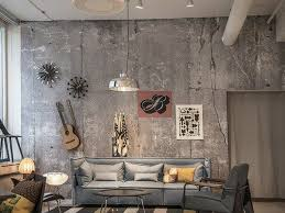 concrete wall decorating